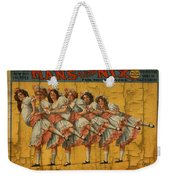 The Dancing Chicks Weekender Tote Bag