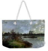 The Darker The Night Weekender Tote Bag