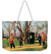 The Daughter Of The English Ambassador Riding In A Palanquin Weekender Tote Bag