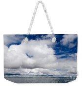 Cloudscape Over Lake Titicaca Peru Weekender Tote Bag