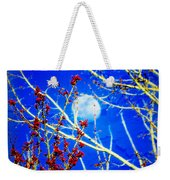 The Day The Moon Stayed Out All Day Weekender Tote Bag