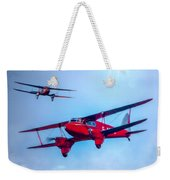 The De Havilland Dh90 Dragonfly Weekender Tote Bag