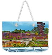 The De Young Fine Arts Museum From Roof Of California Academy Of Sciences In Golden Gate Park-ca Weekender Tote Bag