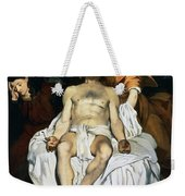 The Dead Christ And Angels Weekender Tote Bag by Edouard Manet
