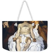 The Dead Christ With Angels Weekender Tote Bag
