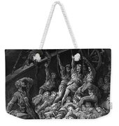 The Dead Sailors Rise Up And Start To Work The Ropes Of The Ship So That It Begins To Move Weekender Tote Bag