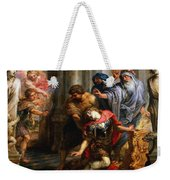 The Death Of Achilles Weekender Tote Bag