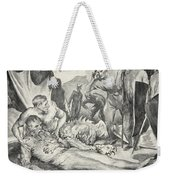 The Death Of Beowulf Weekender Tote Bag by John Henry Frederick Bacon