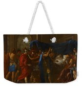 The Death Of Germanicus Weekender Tote Bag by Nicolas Poussin