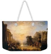 The Decline Of The Carthaginian Empire Weekender Tote Bag