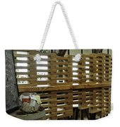 The Deco In The Astoria Restaurant Weekender Tote Bag