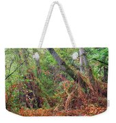 The Deep Rainy In The Mysterious Forest Weekender Tote Bag