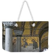 The Deesis Mosaic At Hagia Sophia Weekender Tote Bag
