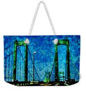 The Delaware Memorial Bridge Weekender Tote Bag
