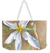 The Delicate Autumn Lady - Narcissus Serotinus Weekender Tote Bag