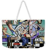 The Dentist Is In Weekender Tote Bag by Anthony Falbo