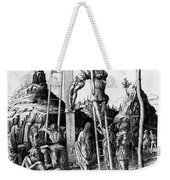 The Descent From The Cross Weekender Tote Bag by Andrea Mantegna