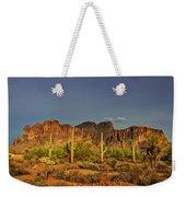 The Desert Aglow Weekender Tote Bag