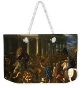 The Destruction And The Sack Weekender Tote Bag