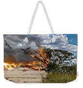 The Destruction Of Our Land Weekender Tote Bag