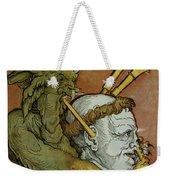 The Devil Weekender Tote Bag