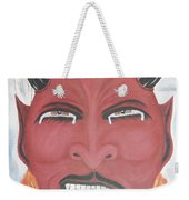 The Devil Is The Detail Weekender Tote Bag