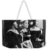 The Dinah Shore Chevy Show Weekender Tote Bag