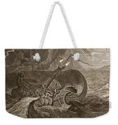 The Dioscuri Protect A Ship, 1731 Weekender Tote Bag by Bernard Picart