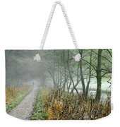 The Disappearing Man - Wolfscote Dale Weekender Tote Bag
