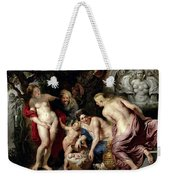 The Discovery Of The Child Erichthonius Weekender Tote Bag