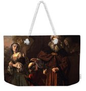 The Dismissal Of Hagar, 1650 Weekender Tote Bag