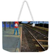 The Distance Of Solitude Weekender Tote Bag