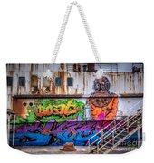 The Diver Weekender Tote Bag by Adrian Evans