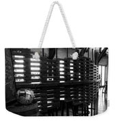 The Divider Weekender Tote Bag
