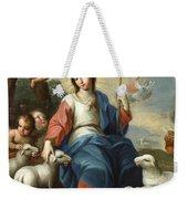 The Divine Shepherdess Weekender Tote Bag