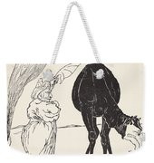 The Djinn In Charge Of All Deserts Guiding The Magic With His Magic Fan Weekender Tote Bag