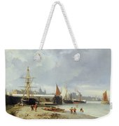 The Docks On The Bank At Greenwich  Weekender Tote Bag
