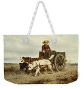 The Dog Cart Weekender Tote Bag by Henriette Ronner-Knip