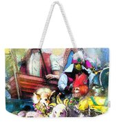 The Dogs Parade In New Orleans Weekender Tote Bag