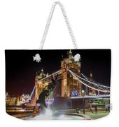 The Dolphin And The Girl Weekender Tote Bag