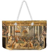 The Donation Of Rome. Weekender Tote Bag