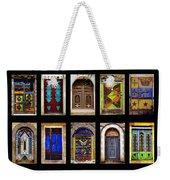 The Doors Of Yemen Weekender Tote Bag