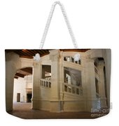 The Double-helix Staircase Chateau Chambord - France Weekender Tote Bag