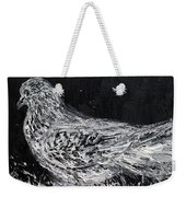 The Dove - Oil Portrait Weekender Tote Bag