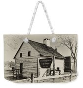 The Downingtown Log House  Weekender Tote Bag