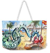The Dragon From Penicosla Weekender Tote Bag