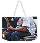 The Dreaded Sax Weekender Tote Bag