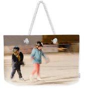 The Dreams Of Little Skaters  Weekender Tote Bag
