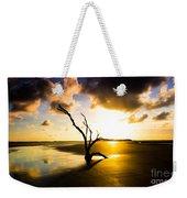 The Driftwood Tree Folly Beach Weekender Tote Bag