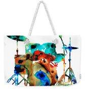 The Drums - Music Art By Sharon Cummings Weekender Tote Bag